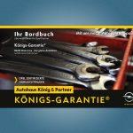 Bordbuch, Garantieheft für das Autohaus König & Partner GmbH