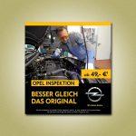 Service-Plakat für das Autohaus König & Partner GmbH