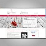 Screenshot Website für das Restaurant Schloss-Stuben Meiningen