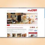 Screenshot Website Schreinerei Wohlfart GmbH