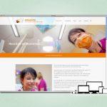 Screenshot Website im Responsive Design für Zahnarztpraxis Dr. Gilbert-Bresler in Meiningen