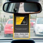 Spiegelanhänger für das Autohaus König & Partner