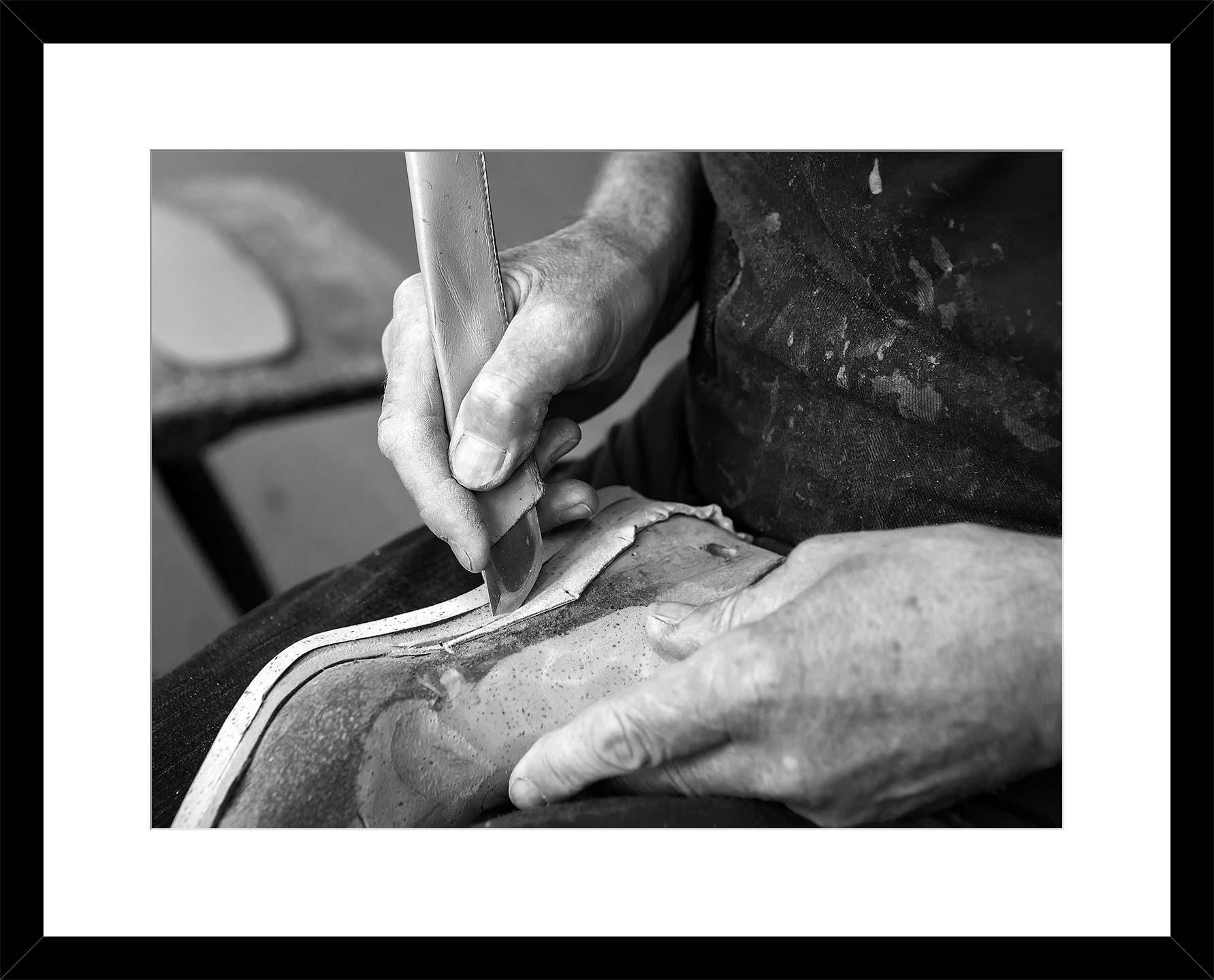 Handarbeit für ganz individuelle Schuhe