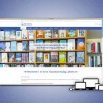 Die neue Website der Buchhandlung Lohmann in Meiningen