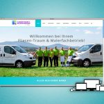 Website für Fliesenleger- und Malerfachbetrieb Marko Volkmar