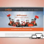 Everun Europe GmbH neu im Web - Screenshot der neuen Website