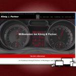 Die neue Website für das Autohaus König & Partner in Meiningen und Suhl.