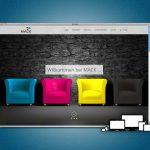 Die neue One-Page-Website der Druckerei Mack für die Region Schweinfurt