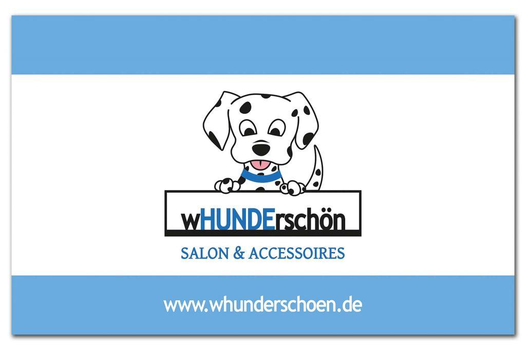 Visitenkarte Hundesalon wHUNDerschön, Seite 2