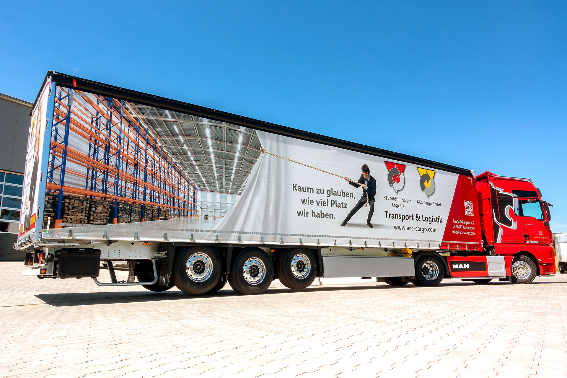 Gestaltung Lkw-Trailer ACC Cargo GmbH