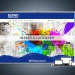Website für KLEWO Malermeister, Inh. Ramona Vonderlind