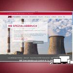 Website für MB Spezialabbruch GmbH & Co. KG