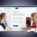 Neuer Webauftritt für die Fahrschule Busch in Meiningen
