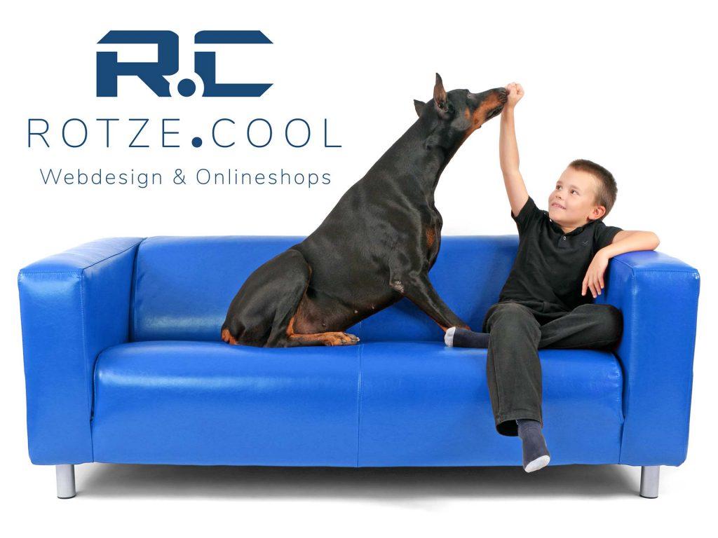 Rotze.Cool - neue Internetseite zum Thema Webdesign